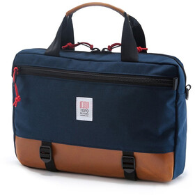 Topo Designs Commuter Salkku, navy/brown leather